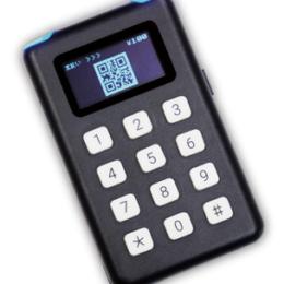 【PlaQuick射出成形】 携帯決済端末『ポケレジ』外装部品の試作に採用